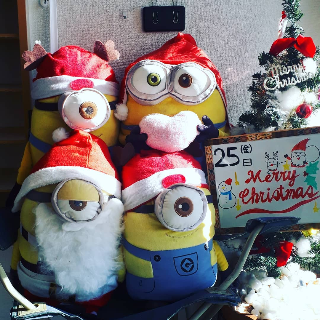 クリスマス(2020/12/25)通常授業、オンライン授業実施中️